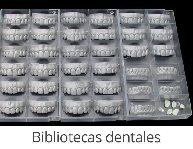 modulos exocad bibliotecas dentales